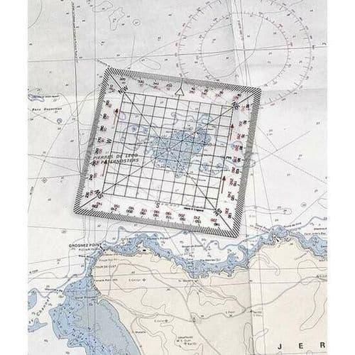 """Plastimo Navigational Protractor 5"""""""